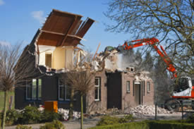 Orange County home demolition